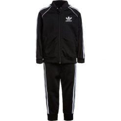 Kurtki chłopięce przeciwdeszczowe: adidas Originals SET Kurtka sportowa black