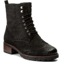 Botki CAPRICE - 9-26210-29 Black Nubuc 008. Czarne buty zimowe damskie Caprice, z nubiku, na obcasie. W wyprzedaży za 269,00 zł.