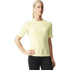 Bluzki damskie: Adidas Koszulka Supernova S-S żółty r. S (AA0628)