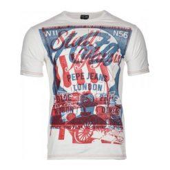 T-shirty męskie z nadrukiem: Pepe Jeans T-Shirt Męski Torday Xl Kremowy