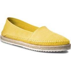 Espadryle damskie: Espadryle QUAZI – F081  Żółty