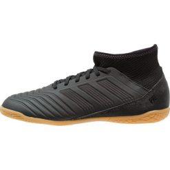 Adidas Performance PREDATOR TANGO 18.3 IN Halówki core black/real coral. Czarne buty sportowe chłopięce adidas Performance, z gumy, do piłki nożnej. Za 379,00 zł.