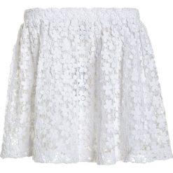 Polo Ralph Lauren Spódnica mini white. Białe spódniczki dziewczęce Polo Ralph Lauren, z bawełny, mini. W wyprzedaży za 160,30 zł.