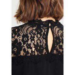 Vero Moda VMJANAIS LACE MIX TOP Bluzka black. Czarne bluzki asymetryczne Vero Moda, xl, z elastanu. Za 159,00 zł.