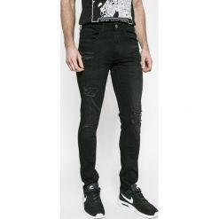 Blend - Jeansy Jet. Czarne jeansy męskie slim Blend, z bawełny. W wyprzedaży za 99,90 zł.