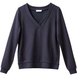 Bluza z kieszeniami. Szare bluzy damskie marki La Redoute Collections, m, z bawełny, z kapturem. Za 102,86 zł.