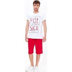 T-SHIRT KRÓTKI RĘKAW MĘSKI GŁADKI. Szare t-shirty męskie Top Secret, na lato, m. Za 19,99 zł.