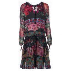 Desigual Sukienka Damska Carson 42 Wielokolorowa. Czarne sukienki balowe Desigual. Za 449,00 zł.
