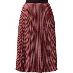 IBlues NIAGARA Spódnica trapezowa rosa. Czerwone spódniczki trapezowe iBlues, z materiału. Za 809,00 zł.