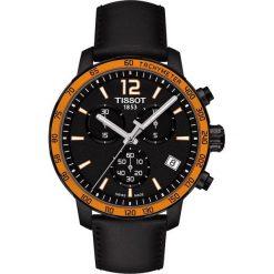 PROMOCJA ZEGAREK TISSOT T-SPORT T095.417.36.037.00. Szare zegarki męskie marki TISSOT, ze stali. W wyprzedaży za 1579,60 zł.