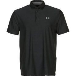 Under Armour PLAYOFF POLO Koszulka sportowa black. Czarne koszulki sportowe męskie Under Armour, m, z elastanu. W wyprzedaży za 142,35 zł.