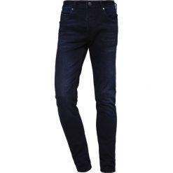 Gabba REY  Jeansy Slim Fit blue black. Niebieskie jeansy męskie regular Gabba. Za 459,00 zł.