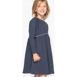 Sukienki dziewczęce: Sukienka z moltonu błyszcząca 3-12 lat
