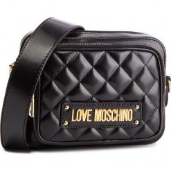 Torebka LOVE MOSCHINO - JC4004PP17LA0000 Nero. Czarne listonoszki damskie marki Love Moschino, ze skóry ekologicznej. Za 719,00 zł.