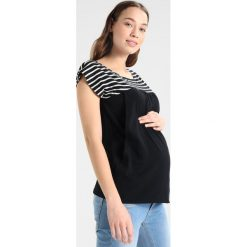T-shirty damskie: Spring Maternity ALLIE BLOCKING Tshirt z nadrukiem black