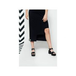 Spódnica LA. Szare długie spódnice Nimt, l, z elastanu. Za 240,00 zł.