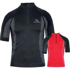 Koszulki sportowe męskie: Brubeck Koszulka termiczna męska Kolor Czarny S