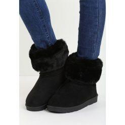 Czarne Śniegowce Midwinter. Czarne buty zimowe damskie Born2be. Za 79,99 zł.