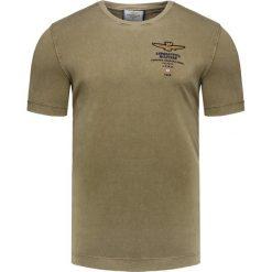 T-shirty męskie: T-shirt AERONAUTICA MILITARE Zielony