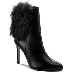 Botki EVA MINGE - Belen 2D 17SF1372276EF 101. Czarne buty zimowe damskie Eva Minge, ze skóry, na obcasie. W wyprzedaży za 269,00 zł.