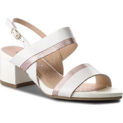 Sandały damskie: Sandały CAPRICE - 9-28203-20 White Multi 103