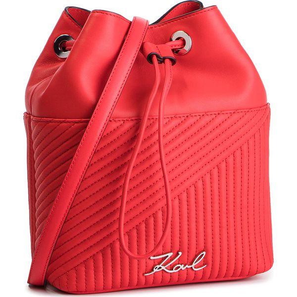 678c46cddb884 Torebka KARL LAGERFELD - 91KW3065 Red Fire - Czerwone torebki ...