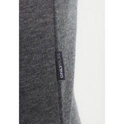 Bluzy rozpinane damskie: Only Play ONPLINA ZIP HOOD Bluza rozpinana dark grey melange