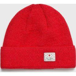 Femi Stories - Czapka Speedy. Czerwone czapki zimowe damskie Femi Stories, na zimę. W wyprzedaży za 99,90 zł.