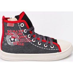 Befado - Trampki dziecięce. Szare buty sportowe chłopięce marki Befado, z materiału. W wyprzedaży za 24,90 zł.