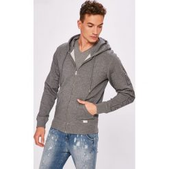 Diesel - Bluza. Brązowe bluzy męskie rozpinane Diesel, m, z nadrukiem, z bawełny, z kapturem. Za 339,90 zł.