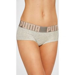 Puma - Figi (2-pack). Brązowe figi Puma, s, z bawełny. W wyprzedaży za 69,90 zł.