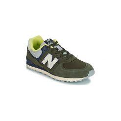 Buty Dziecko New Balance  GC574. Zielone trampki chłopięce New Balance. Za 260,10 zł.