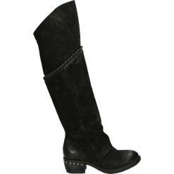 Kozaki - 239307 NERO. Czarne buty zimowe damskie Venezia, ze skóry. Za 1099,00 zł.