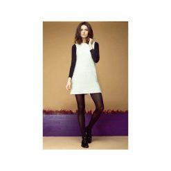 Wełniana sukienka mini ecru. Brązowe sukienki balowe ON YOU, m, z wełny, z krótkim rękawem, mini, sportowe. Za 180,00 zł.