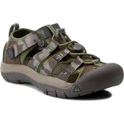 Sandały KEEN - Newport H2 1016595 Cascade Brown Kamo. Zielone sandały chłopięce marki Keen, z gumy. W wyprzedaży za 199,00 zł.