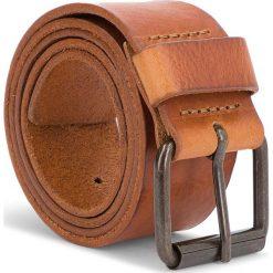 Pasek Męski WRANGLER - Rolla Belt W0B61U181 85 Cognac. Brązowe paski męskie Wrangler, w paski, ze skóry. W wyprzedaży za 159,00 zł.