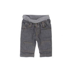 STEIFF Boys Baby Spodnie Jeans grey denim. Szare spodnie chłopięce marki Steiff, z bawełny. Za 110,00 zł.