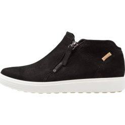 Ecco SOFT LADIES Ankle boot black/powder. Czarne botki damskie skórzane ecco. Za 579,00 zł.
