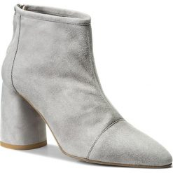 Botki EVA MINGE - Langreo 3E 18GR1372413ES  809. Szare buty zimowe damskie Eva Minge, ze skóry. W wyprzedaży za 319,00 zł.