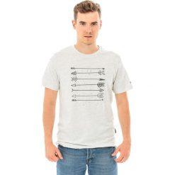 Hi-tec Koszulka męska Skote Light Grey Melange/dark Grey  r. S. Szare koszulki sportowe męskie marki Hi-tec, m. Za 32,62 zł.