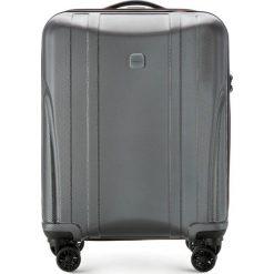 Walizka kabinowa 56-3P-911-00. Szare walizki marki Wittchen, z gumy, małe. Za 259,00 zł.