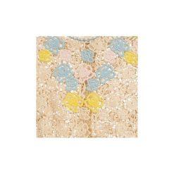 Sukienki krótkie Manoush  ROSES. Brązowe sukienki mini marki Manoush, z krótkim rękawem. Za 1735,20 zł.