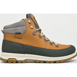 Grisport - Buty. Szare buty trekkingowe męskie Grisport, na zimę, z materiału, na sznurówki, outdoorowe. Za 449,90 zł.