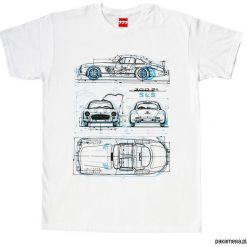 T-shirty męskie: koszulka MERCEDES GULLWING tshirt