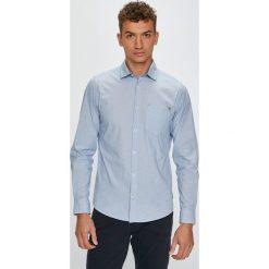 S. Oliver - Koszula. Szare koszule męskie na spinki marki S.Oliver, l, z bawełny, z włoskim kołnierzykiem, z długim rękawem. W wyprzedaży za 129,90 zł.