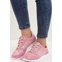 Różowe Buty Sportowe Now Sports!. Czerwone buty sportowe damskie marki KALENJI, z gumy. Za 69,99 zł.