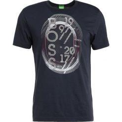 T-shirty męskie z nadrukiem: BOSS Green Tshirt z nadrukiem dark blue