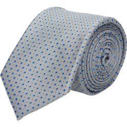 Krawaty męskie: krawat platinum szary classic 216