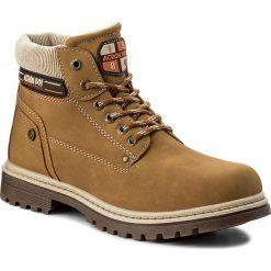 Buty zimowe chłopięce: Trapery ACTION BOY – BP07-16994-01 Miodowy