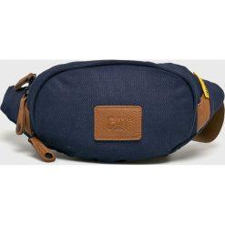 Caterpillar - Nerka. Czarne walizki marki Caterpillar, w paski, z materiału, małe. Za 99,90 zł.